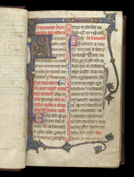 The Start Of Advent In The Temporale Of A Durham Missal